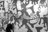 Author: Marcel·lí Antúnez Roca. Photo: Angelo Zanella. <a href='http://marceliantunez.com/media/img/work/21Interativita_Furiosa_2007_exhibition_Sistematurgy_mural_making_of01.jpg' target='_blank'>Download original</a> <span style='color:transparent'>717</span>