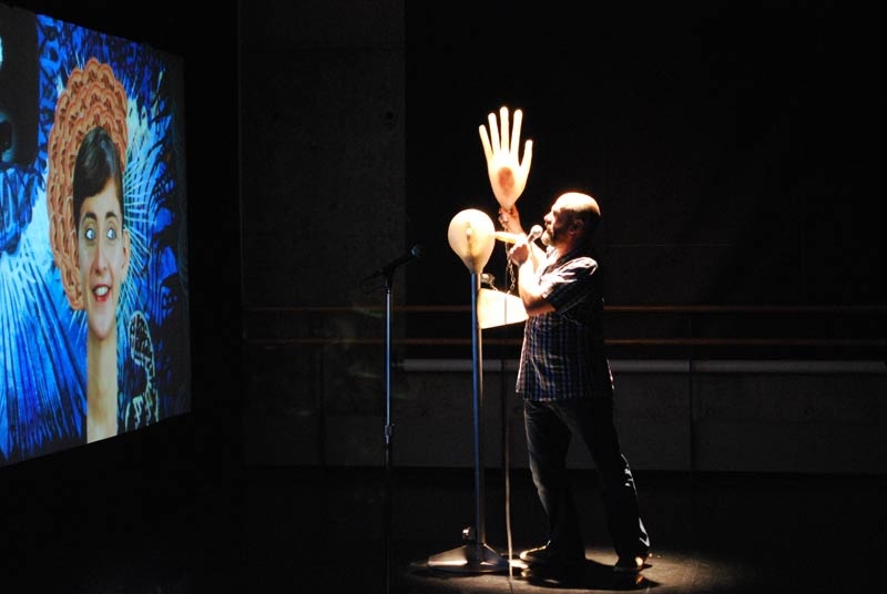 Metamembrana 2009, interactive installation. Fembrana scene. New York. Author: Marcel·lí Antúnez Roca. Photo: Oriol Ibañez.