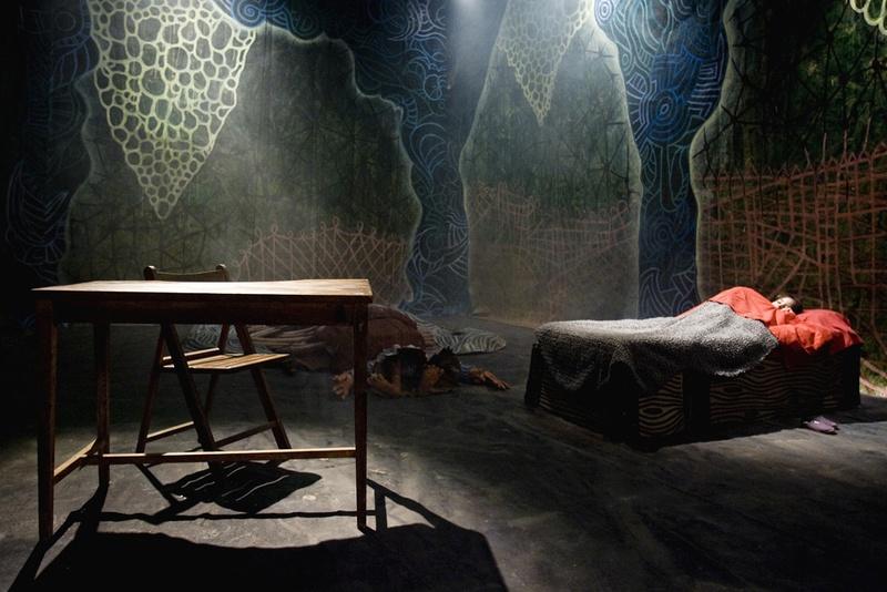 El Peix sebastiano, 2011. Film. Making of.Didi room. Author: Marcel·lí Antúnez Roca. Photo: Carles Rodriguez.