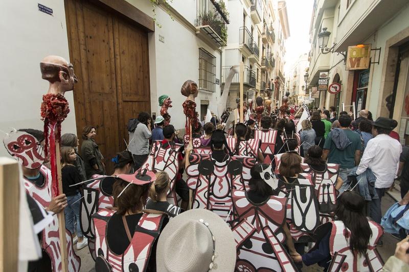 trip to Correu Vell Place, Valencia.. Author: Marcel·lí Antúnez Roca. Photo: Carles Rodriguez.