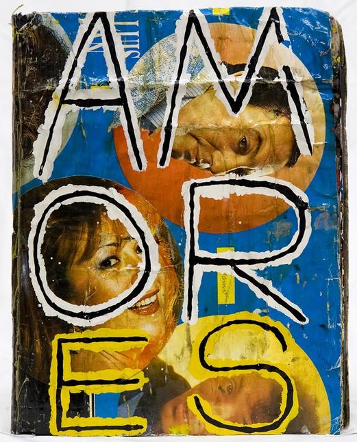 Artcagarro books. AMORes. Front page. Author: Marcel·lí Antúnez Roca.