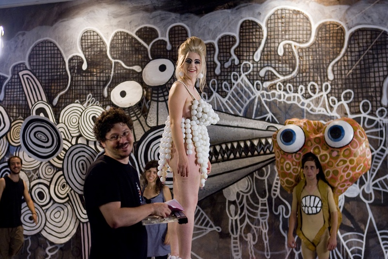 El Peix sebastiano, 2011. Film. Making of noms de Didi . Author: Marcel·lí Antúnez Roca. Photo: Carles Rodriguez.