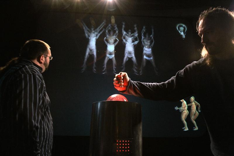 Human Machine 2001. Interactive Installation. General view. Author: Marcel·lí Antúnez Roca. Photo: Carles Rodriguez.