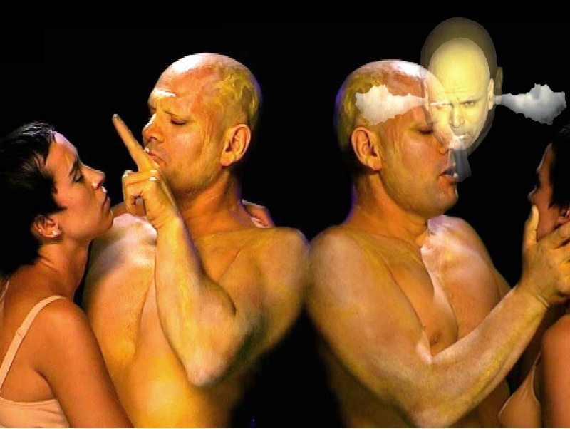 Human Machine 2001. Interactive installation. animation. Author: Marcel·lí Antúnez Roca. Photo: Carles Rodriguez.