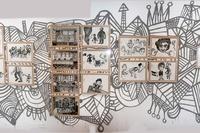 Author: Marcel·lí Antúnez Roca. Photo: Oriol Ibañez. <a href='http://marceliantunez.com/media/img/work/05Interativita_Furiosa_2007_exhibition_dibuixant_mural.jpg' target='_blank'>Download original</a> <span style='color:transparent'>701</span>