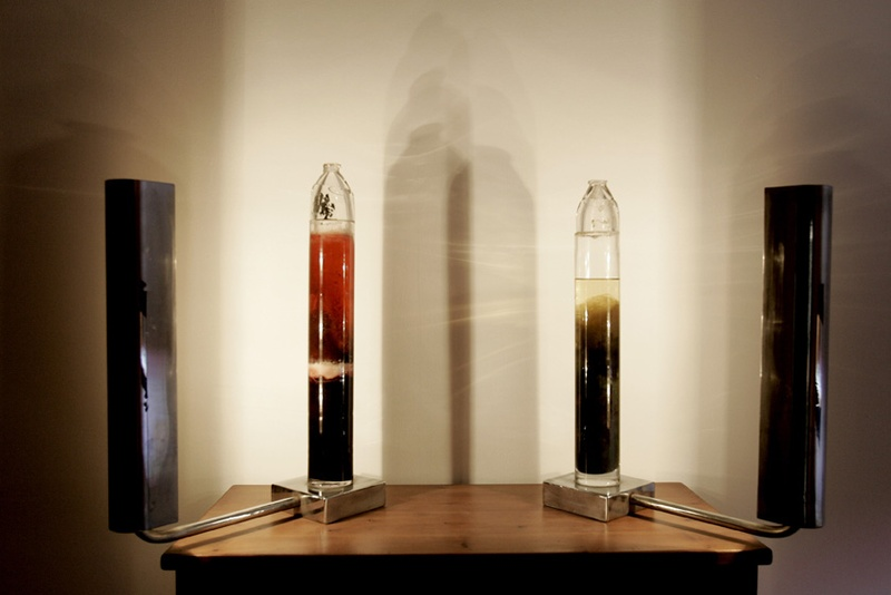 Agar, 1999. Bioinstallation. Winogasky Columns. Author: Marcel·lí Antúnez Roca. Photo: Carles Rodriguez.