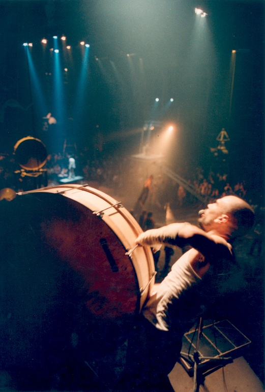 La Fura dels Baus. Tier Mon 1988. Ritual Scene. Author: La fura dels baus. Photo: Josep Gol.