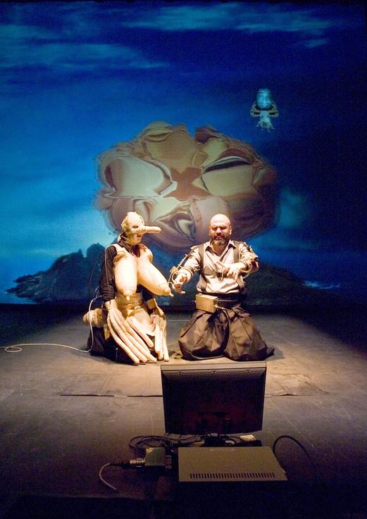Protomembrana 2006. Interactive Performance. Orgia scene. Author: Marcel·lí Antúnez Roca. Photo: Carles Rodriguez.