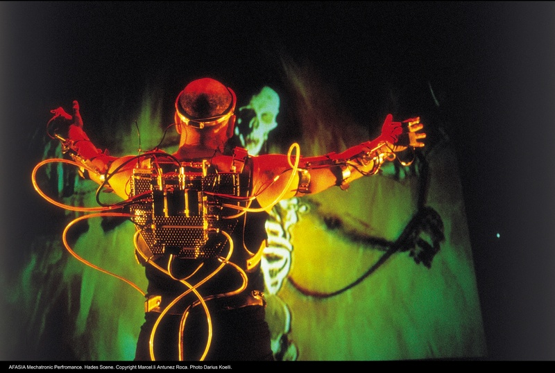 Afasia1998. Mechatronic Performance. Hades scene. Author: Marcel·lí Antúnez Roca. Photo: Darius Koehli.