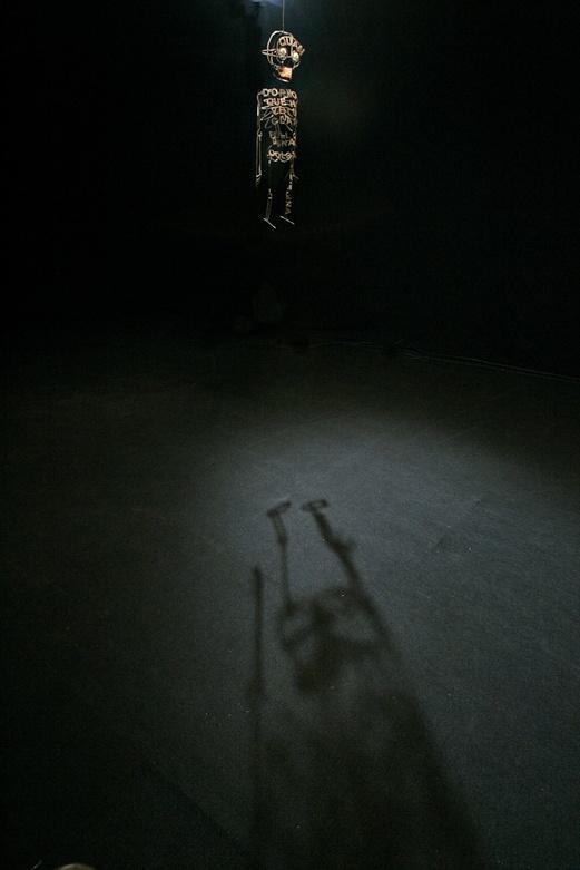 DIBUIXANT 2005. Documentary film. Metzina setup. Author: Marcel·lí Antúnez Roca. Photo: Carles Rodriguez.