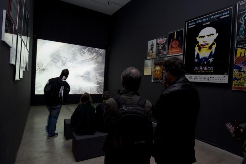 "Documentary, ""El Dibuixant"". Author: Marcel·lí Antúnez Roca. Photo: Carles Rodriguez."