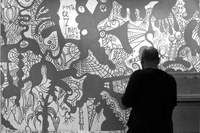 Author: Marcel·lí Antúnez Roca. Photo: Angelo Zanella. <a href='http://marceliantunez.com/media/img/work/01Interativita_Furiosa_2007_exhibition_sistematurgy_mural_making_of.jpg' target='_blank'>Download original</a> <span style='color:transparent'>697</span>