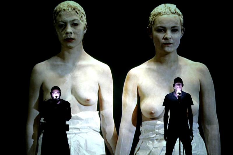 Hipermembrana 2007 Interactive performance estigmas. Author: Marcel·lí Antúnez Roca. Photo: Carles Rodriguez.
