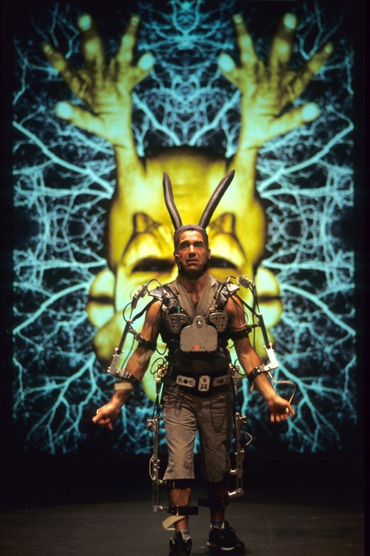 Pol 2002, Mechatronic performance. Sap scene. Author: Marcel·lí Antúnez Roca. Photo: Darius Koehli.