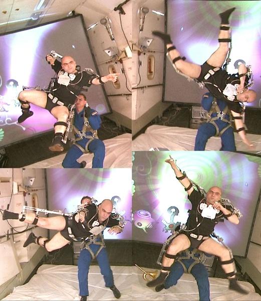 Transpermia 2004. Interactive Performance. Video Bank. Author: Marcel·lí Antúnez .
