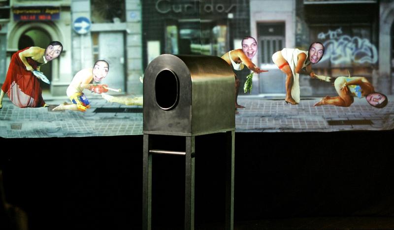 Tantal. 2004, Interactive Installation. Author: Marcel·lí Antúnez Roca. Photo: C. Rodriguez.