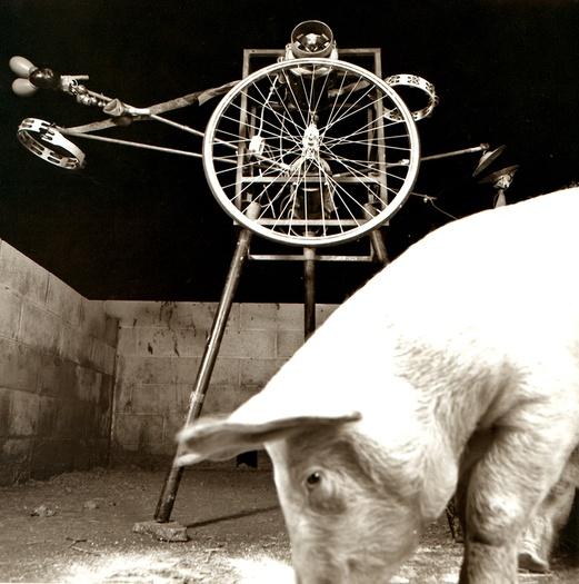 La Fura dels Baus. SuzoSuz1985. Automatic folk. Author: La fura dels baus. Photo: Josep Gol.
