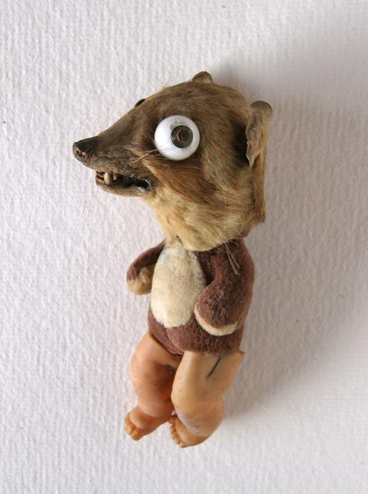 Afasia1998. Mechatronic Performance. Ciclop Toy. Author: Marcel·lí Antúnez Roca.