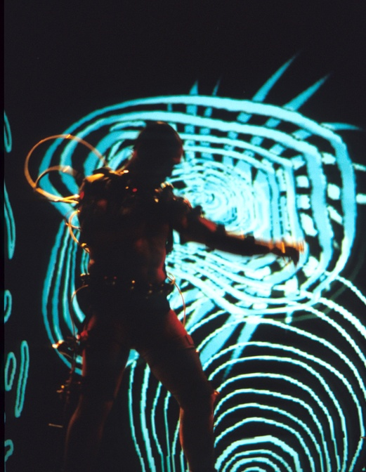 Afasia1998. Mechatronic Performance. Batalla  scene. Author: Marcel·lí Antúnez Roca. Photo: Darius Koehli.