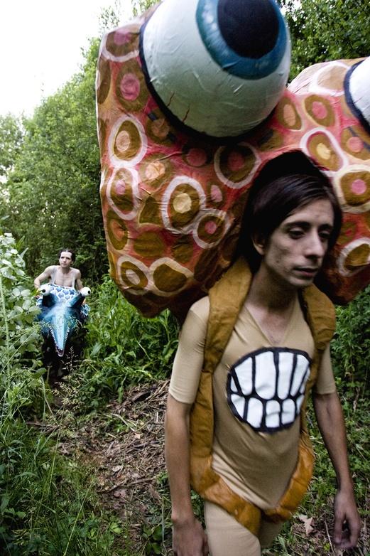 El Peix sebastiano, 2011. Film. Making of One Day. Author: Marcel·lí Antúnez Roca. Photo: Carles Rodriguez.