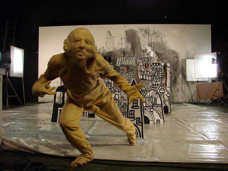 Hipermembrana 2007. Interactive performance. Dite . Author: Marcel·lí Antúnez Roca. Photo: S. Giachelo.