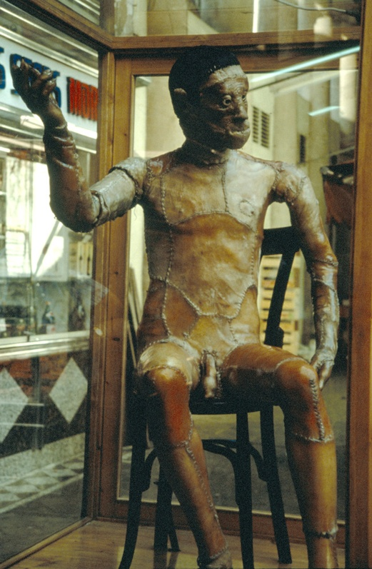 JoAn 1992, Robot. Interactive Installation. Detail. Author: Marcel·lí Antúnez Roca. Photo: Carles Rodriguez.