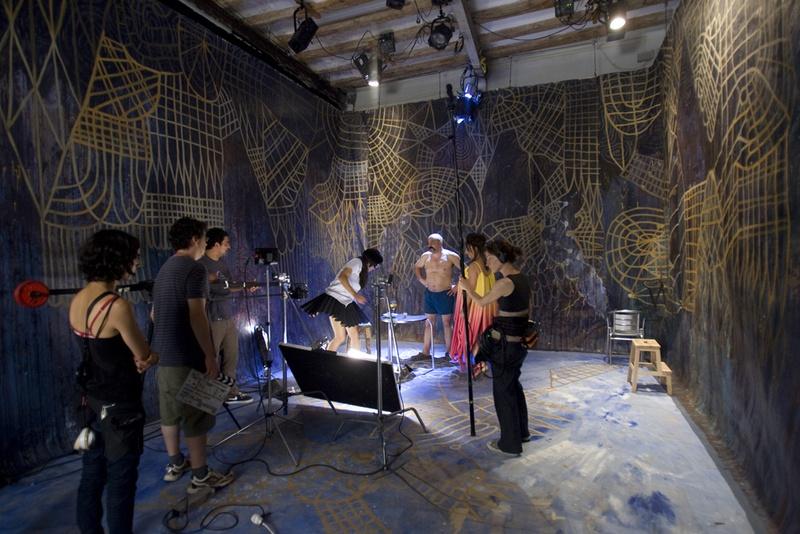 El Peix sebastiano, 2011. Film. Making of Vermout. Author: Marcel·lí Antúnez Roca. Photo: Carles Rodriguez.