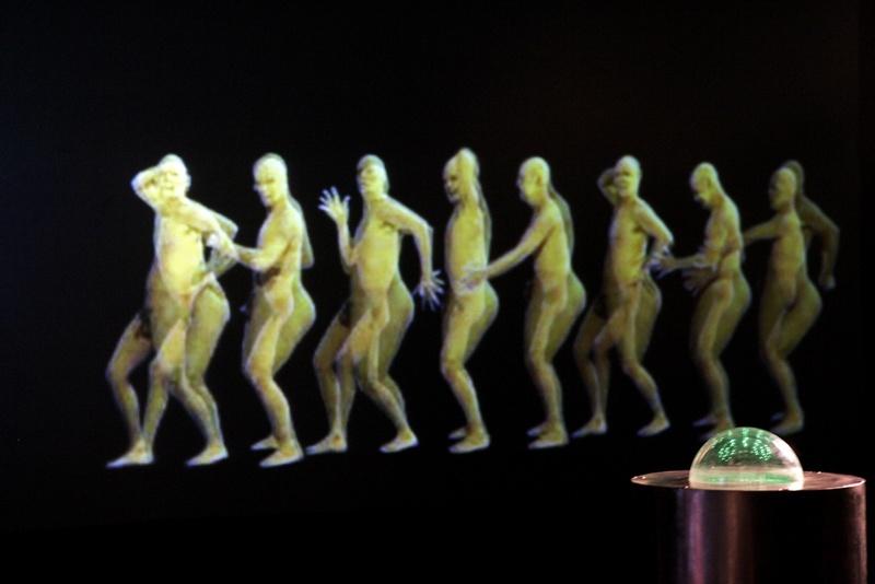 Human Machine 2001. Interactive installation. Detail. Author: Marcel·lí Antúnez Roca. Photo: Carles Rodriguez.