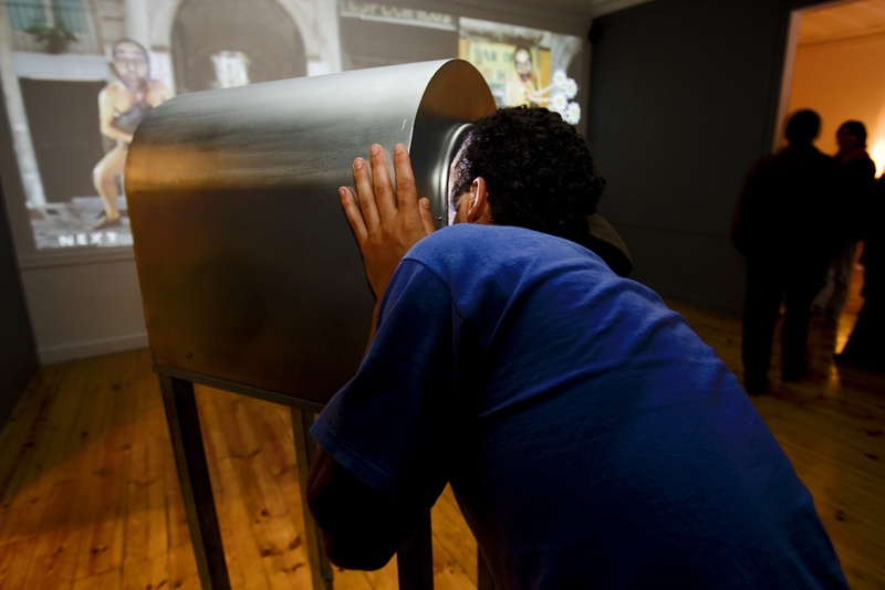 Tantal. 2004, Interactive Installation. Author: Marcel·lí Antúnez Roca. Photo: Carles Rodriguez.