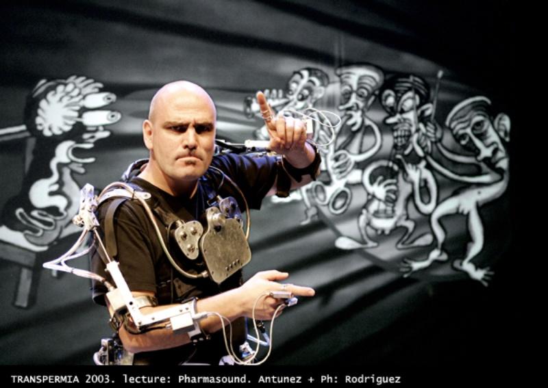 Transpermia. Interactive Performance. Author: Marcel·lí Antúnez .