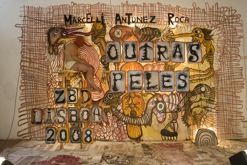 Outras Peles. Front Page. ZDB Gallery, Lisboa. Author: Marcel·lí Antúnez Roca. Photo: Carles Rodriguez.